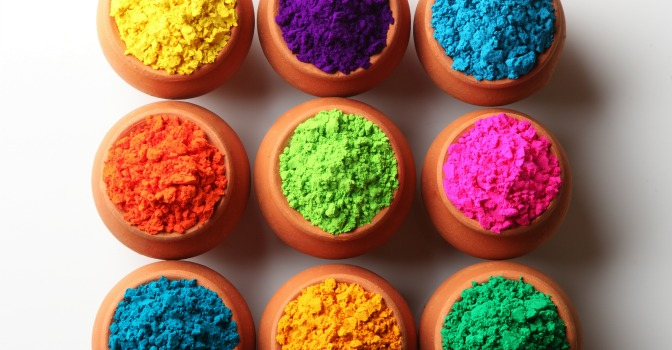 Bright neon pigments are best reserved for…