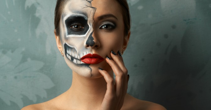 You want to enter QC Makeup Academy's annual Halloween Makeup Contest, but you can only choose one product to use. What do you reach for?