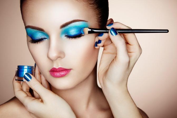Amber Makeup artistry first client makeup application