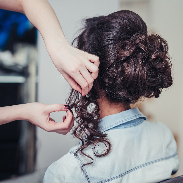 hair styling essential updo