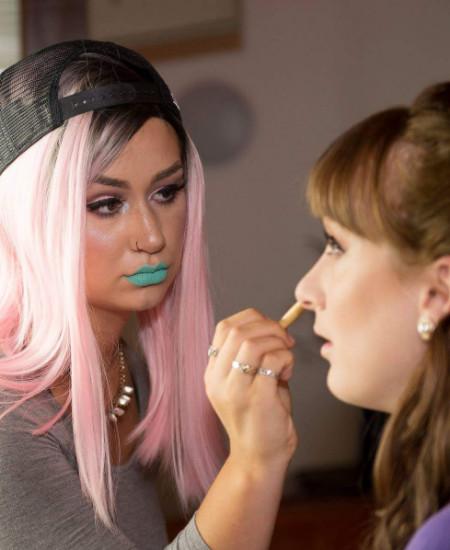 Karin Elam master makeup artistry course graduate