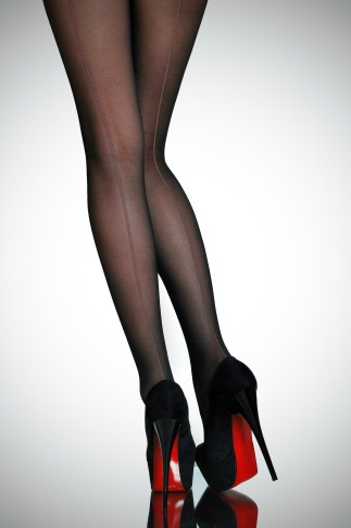 Stockings Vintage Beauty Trend