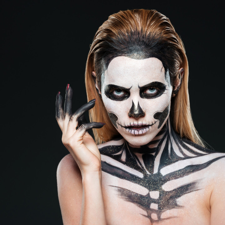 classic halloween makeup looks for the professional makeup artist