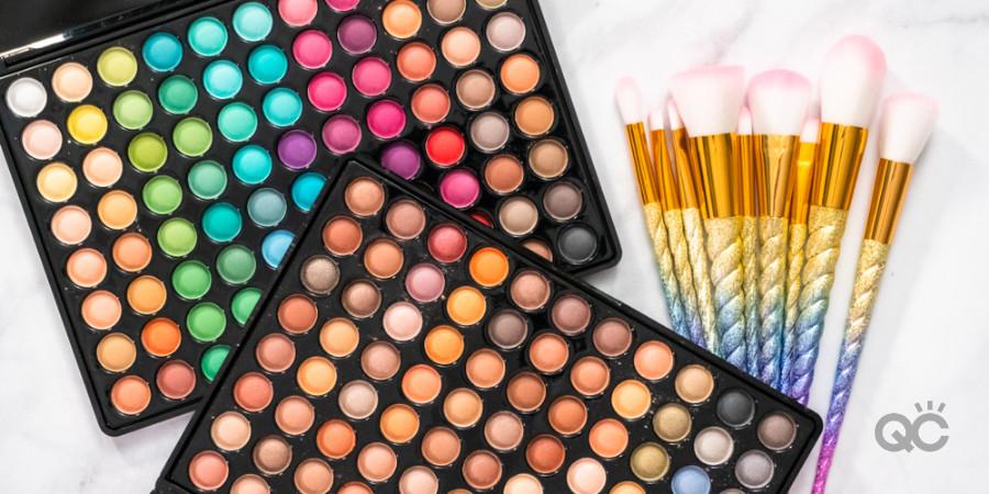 professional makeup kit makeup brush set and eyeshadow palettes