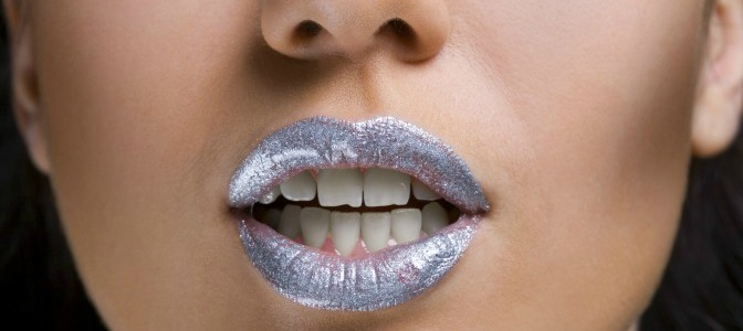 Metallic Lipstick Feature