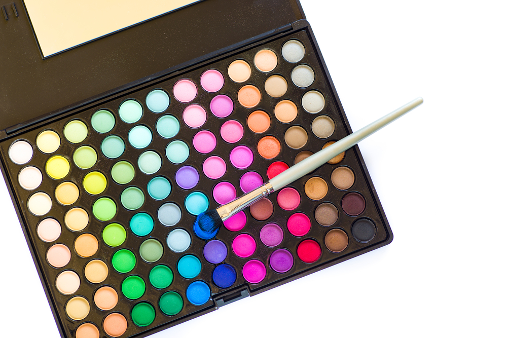 eyeshadow palette for a professional makeup artist