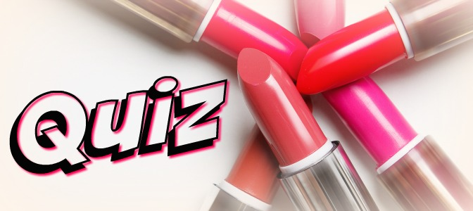 Makeup quiz for a winter lipstick shade