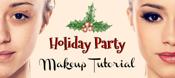 Holiday party makeup tutorial with successful makeup artist from QC Makeup Academy