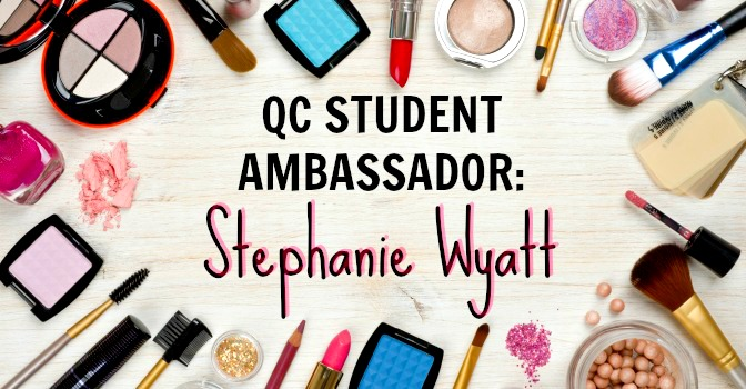 QC Student Ambassador: Stephanie Wyatt makeup tutorial