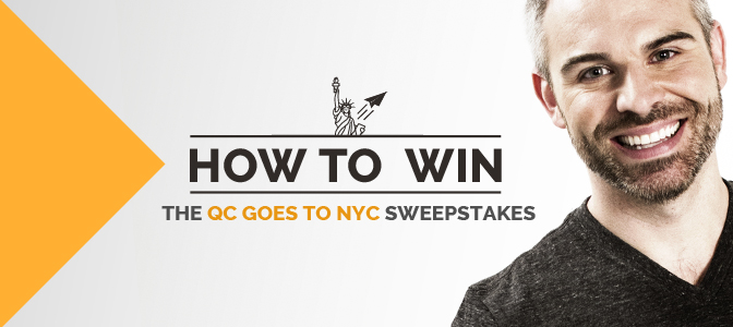 QC Goes to NYC- Win a Free Trip to New York City