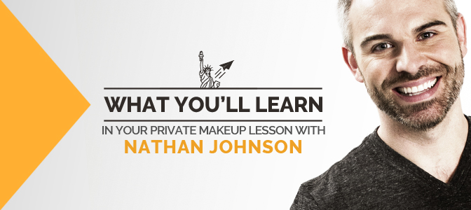 What You'll Learn in Your Private Makeup Lesson with Nathan Johnson
