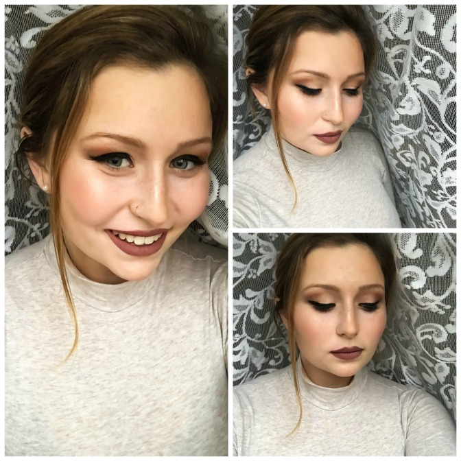 Kaylee Karcher beauty blogger and online makeup artistry student
