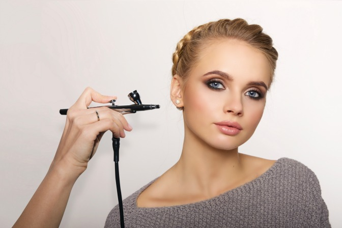 Get bridal makeup clients with airbrush makeup training classes