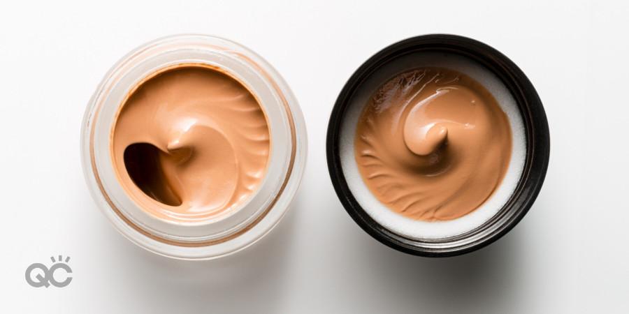 concealer in a jar for a makeup kit