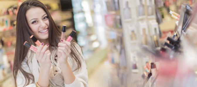 How often do you go shopping for makeup?