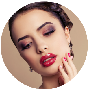 How to apply glamour makeup