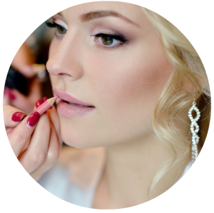 Learn to apply professional bridal makeup with QC Makeup Academy