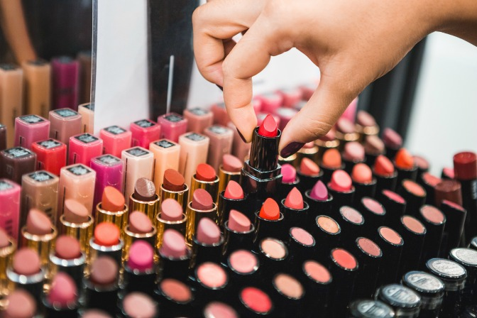 Makeup and beauty products for a professional MUA