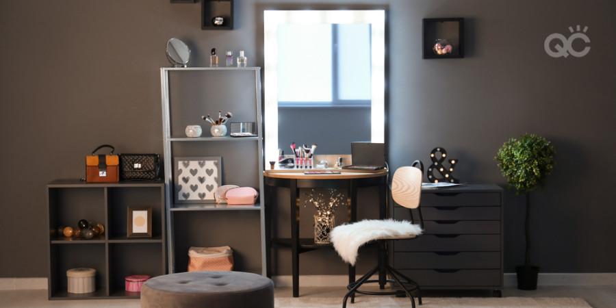 home makeup studio setup