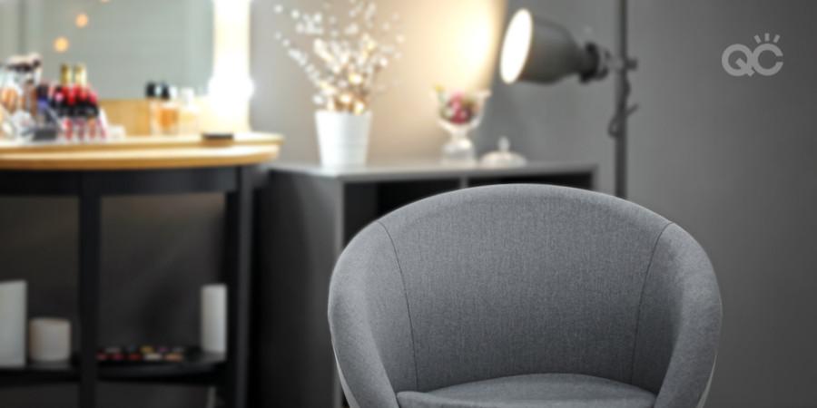 comfy makeup chair