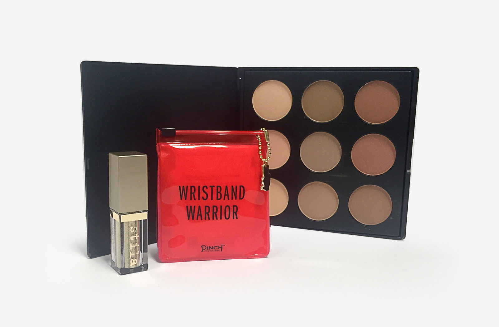 Runner up Wristband Warrior and Stila Eyeshadow in Gold