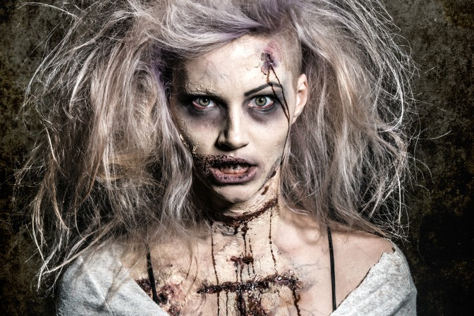 Creating special fx makeup for film productions