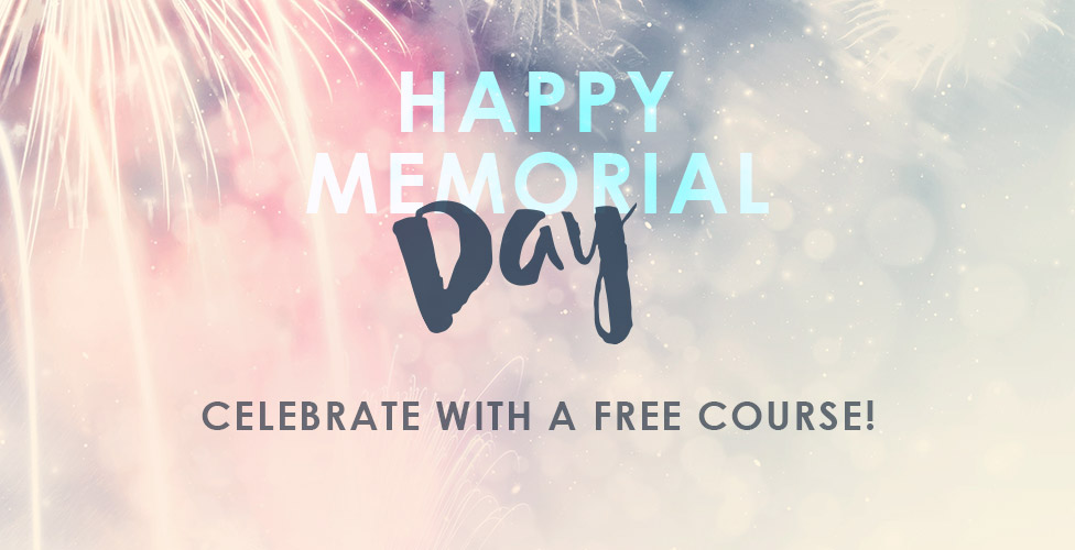 Memorial Day Promotion- Free makeup course