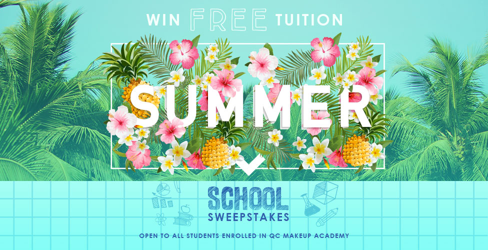QC Makeup Academy Summer School Sweepstakes 2017- Win Free Tuition