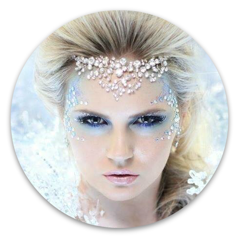 Winter fantasy makeup inspiration