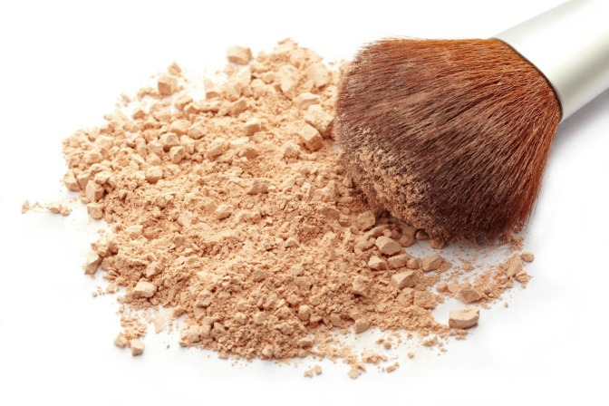 Mineral makeup for summer