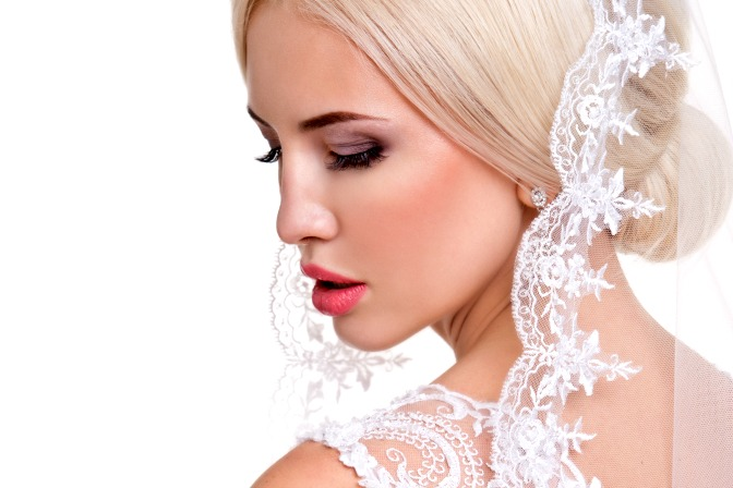 Bridal look for makeup artists