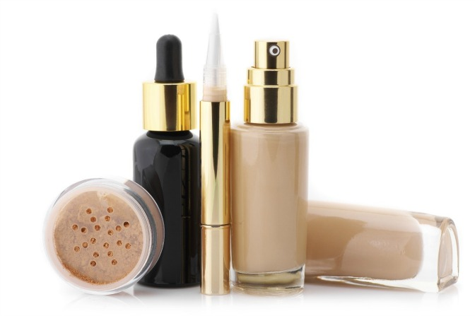 Foundations with toxic makeup ingredients