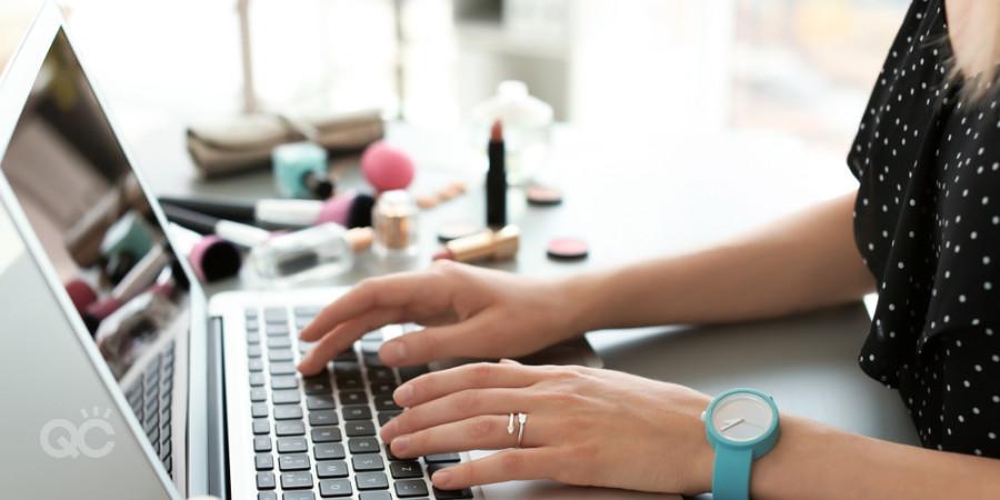 makeup artist building website