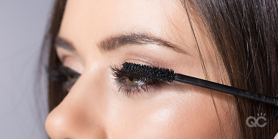 makeup artistry training with mascara