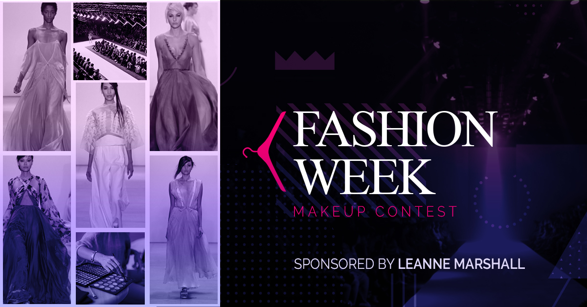 QC Makeup Academy Fashion Week Makeup Contest Thank You