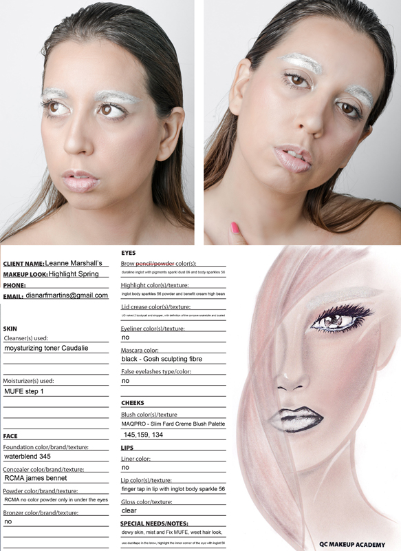 Makeup Artist Diana Martins Makeup Contest Submission