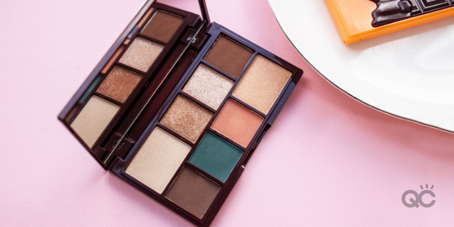 makeup palettes and eyeshadows