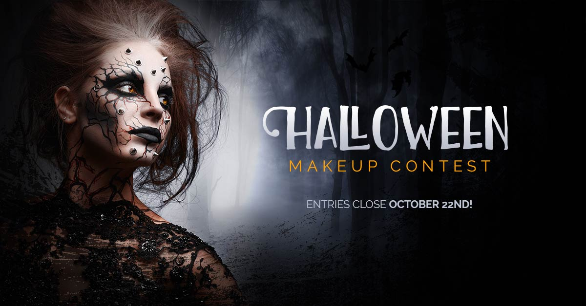 2017 Halloween Makeup Contest Landing Page Image