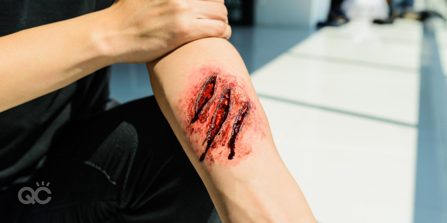 fake wound silicon moulding liquid latex fake blood special effects makeup