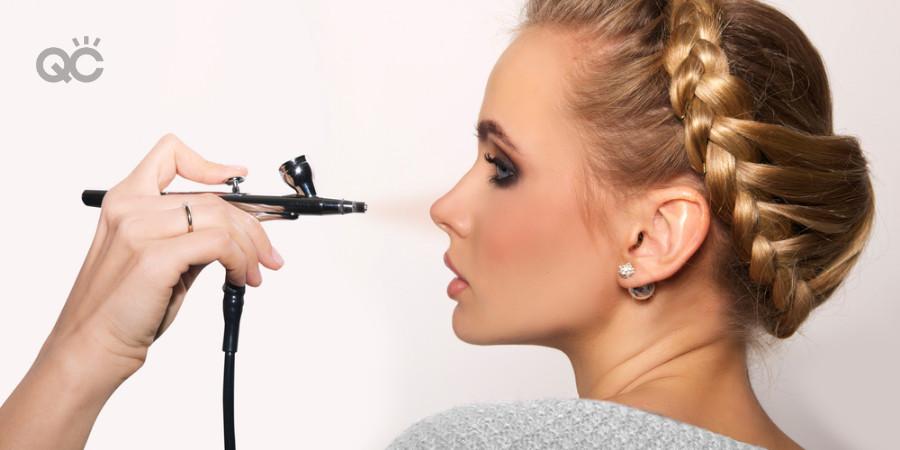 4 Worst Ways To Use An Airbrush Makeup