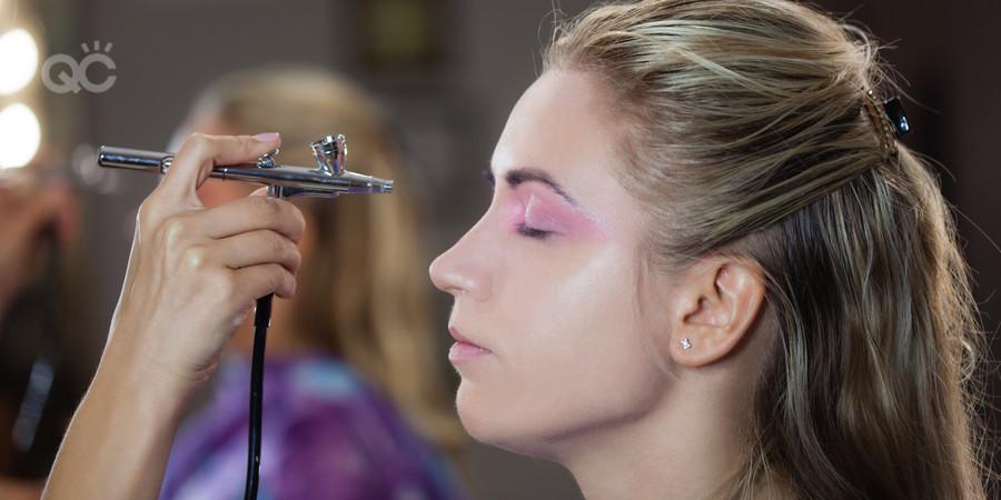 airbrush eyeshadow