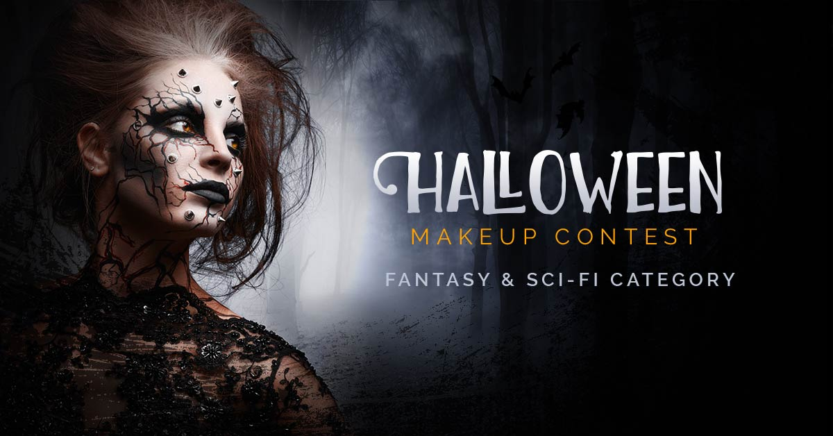 Halloween Makeup Contest 2017- Fantasy & Sci-fi Category
