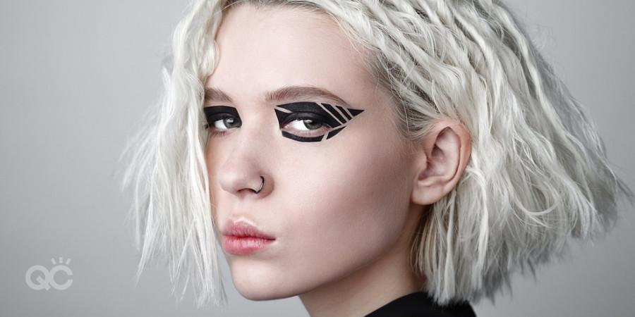 graphic eyeliner creative makeup
