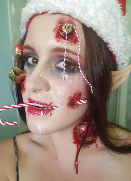 Makeup Artist Cara Sawtell Makeup Contest Submission