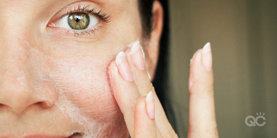 aging skin can be dry