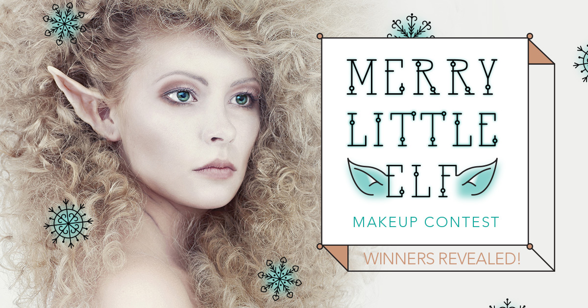 WINNERS REVEALED: Merry Little Elf Makeup Contest