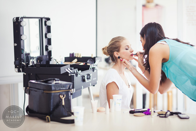 Lessons Learned in QC Makeup Academy's Makeup Class- Makeup Lighting