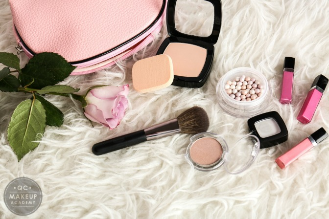 Insta-worthy photo of your professional makeup kit