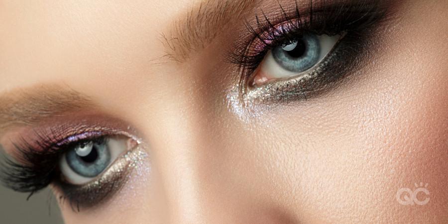 glitter eye makeup artistry