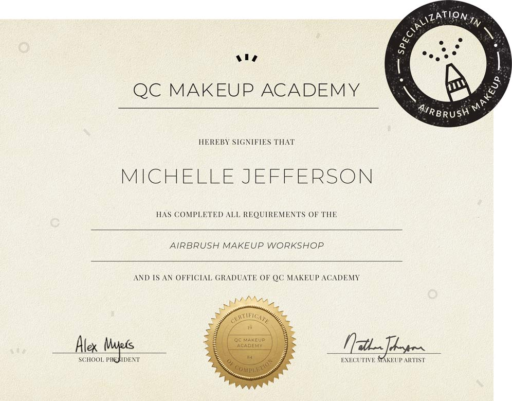 Airbrush Makeup Workshop - QC Makeup Academy